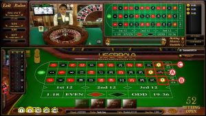 roulette judi online straight up